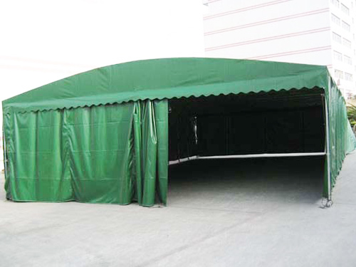 户外木制遮雨棚图片